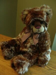 Charlie Bears Strudel New Gorgeous Coloring & Sweetest Face Ever A Must See!