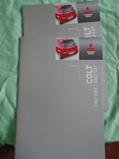 Mitsubishi Colt CZ3/CZT range brochure Jun 2005 Irish market
