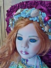 MERMAID DOLL  4 FOOT COLLECTIBLE  PRISTINE CONDITION  OUTSTANDING  A  MUST  SEE