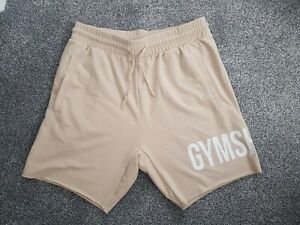 Gymshark Shorts Cream Size Medium