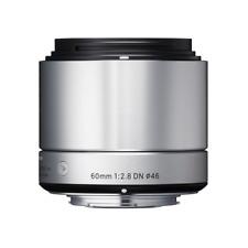 Sigma 60mm F2.8 DN Silver Art Series Lens: SONY E MOUNT CA2574