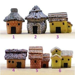 Miniature Fairy Garden Home Stone Cottage Terrarium Accessories (FAST SHIPPING)