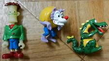 3 Figuren aus Monster Hotel - ÜEi, Dragox, Funnystein, Wolfy