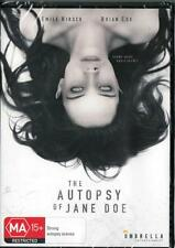 THE AUTOPSY OF JANE DOE - NEW & SEALED REGION 4 DVD - FREE LOCAL POST