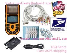 CONTEC ECG80A Portable Hand-held Single Channel ECG EKG machine w/Software,USA