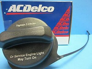 Genuine GM Fuel Gas Tank Filler Cap ACDelco GT330 OEM # 20915842 With Tether