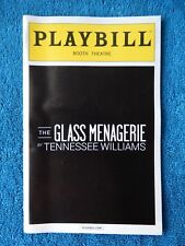 The Glass Menagerie - Booth Theatre Playbill w/Ticket - October 18th, 2013