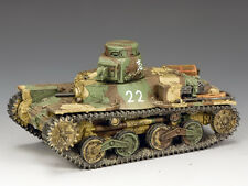 """JN041 Type 95 """"Ha-Go"""" Light Tank (2nd Version) by King and Country"""