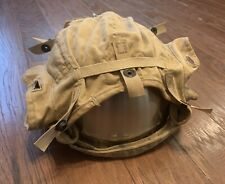 Vintage Coast Guard Cloth Helmet Assy - Sphpg4 - Size 7 1/2 - 1970s / 1980s