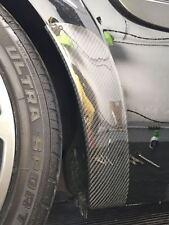 Renault Megane 225/R26 real de fibra de carbono Lado Falda Polainas (arco trasero cubre)