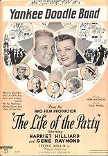 "LIFE OF THE PARTY ""Yankee Doodle Band"" Gene Raymond Joe Penner Parkyakarkus"