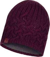 BUFF® Knitted & Polar Hat Helle Erwachsene Mütze Wine