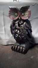 Solar Lighted Owl Bug Zapper