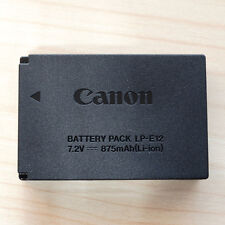 Genuine Original Canon LP-E12 Battery for Canon EOS M 100D Cameras 7.2V 875mAh