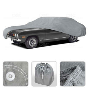 Car Cover for Audi TT Outdoor Breathable Sun Dust Proof Auto Protection
