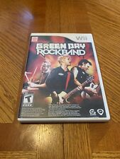 Green Day: Rock Band (Nintendo Wii, 2010) Complete