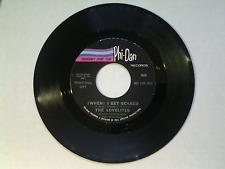 "The Lovelites 45 rpm ""(When) I Get Scared"" PHI - DAN 5008 DJ COPY"