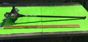 Studebaker steering box and shaft, USED.     Item:  14513