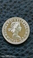 New Collectable Clearance 1963 Sovereign Queen Elizabeth II Gold Plated Coin