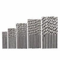 50 tlg Titan HSS Spiralbohrer Satz/Set 1mm-3mm Werkzeug Metallbohrer Bohrer