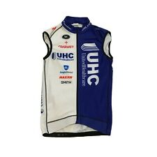 NWoT Men's 2015 Vermarc UHC Pro Cycling Thermal Vest, Blue/White, Size Small