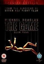 The Game - Michael Douglas Sean Penn DVD Brand New Sealed