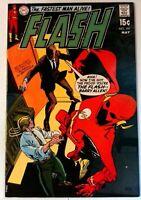Flash #197 DC 1970 VF+ Bronze Age Comic Book 1st Print