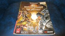 Mortal Kombat vs DC Universe Prima Game Strategy Guide Xbox 360 Playstation 3