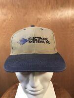 VTG Sioux Falls South Dakota Electronic Systems Inc ESI Snapback Trucker Hat Cap