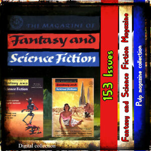 Fantasy & Science Fiction  pulps novels stories- great set