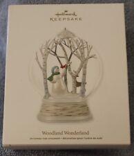 """2012  """"WOODLAND WONDERLAND""""  HALLMARK KEEPSAKE ORNAMENT NIB"""