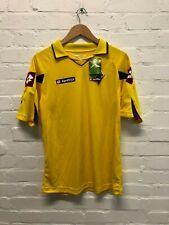 Lotto Fiorentina FC Men's Retro 2010/11 3rd Shirt - Medium - Yellow - New