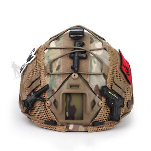 Tactical Helmet Cover for FAST Helmet Army Military Airsoft Headwear