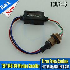 1x T20 7443 W21/5W LED Bulb Light Error Decoder Load Resistor Adapters Canceller