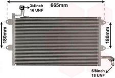 Kondensator, Klimaanlage für Klimaanlage VAN WEZEL 58005137