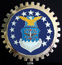 CAR  GRILLE  EMBLEM BADGES - US AIR FORCE