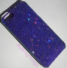 Tiny 7ss HELIOTROPE Rhinestone Back Case for iPhone 5SE 5 5S w/Swarovski Crystal