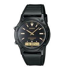 Casio AW49HE-1A Men's Resin Strap Black Dial Analog Digital Dual Time Watch