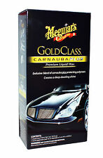 Meguiar's GOLD GLASS CARNAUBA PLUS Premium Liquid Car Wax Clear-Coat Safe PRO