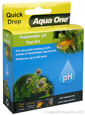 Aqua One A1-92051 Quick Drop Freshwater pH Test Kit Wide Range 4.5-10 for Aquari