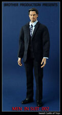 1/6 Brother Production Action Figure Accessory - Men In Suit 002 Black Ver.