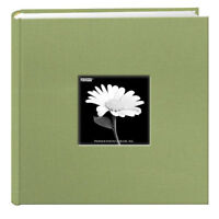 Pioneer DA-200CBF Cloth Frame Photo Album Sage Green (Same Shipping Any Qty)
