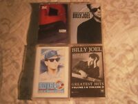 4x BILLY JOEL CASSETTE TAPES LOT- STORM FRONT GREATEST HITS INTERVIEW -FREE POST