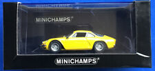 1:43 MINICHAMPS RENAULT ALPINE A110 YELLOW 1971 LE 1 OF 1008 DIECAST CAR BOX