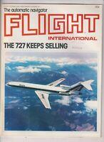 Flight International Mag The 727 Keeps Selling January 8, 1977 022120nonr