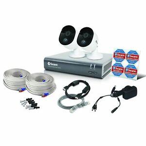 Swann DVR CCTV Kit DVR4 4580 4 Channel 1TB  2x 1080MSB HD Motion Sensing Cameras