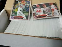 2012 Topps Baseball Chrome Complete Set-220 cards TROUT HARPER RC