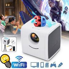 1080P Mini HD Projector Smart Home Cinema Theater Video Movie LED WiFi Projector