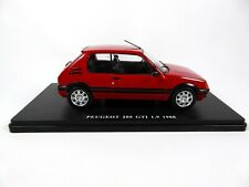 Peugeot 205 GTI 1.9 (1988) - 1/24 Salvat Voiture miniature Diecast car E020