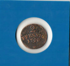 2 Pfennig 1796 - Sachsen - Carl August